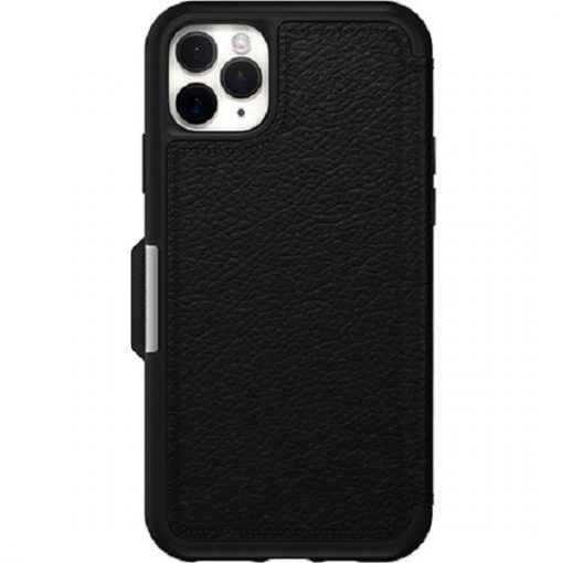 77-62603-OtterBox Apple iPhone 11 Pro Max Strada Series Case - Shadow Black