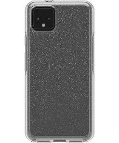 77-62702-OtterBox Google Pixel 4 XL Symmetry Series Clear Case - Stardust Glitter