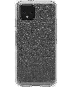 77-62726-OtterBox Pixel 4 Symmetry Series Clear Case - Stardust Glitter