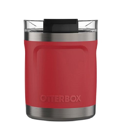 77-63286-OtterBox Elevation Tumbler Mug W/CLID 10OZ 312 APAC/EMEA ( 77-63286 ) - Flame Chaser Red - 100% stainless steel for years of use and abuse