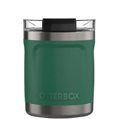 77-63288-OtterBox Elevation Tumbler Mug W/CLID 10OZ 312 APAC/EMEA ( 77-63288 ) - Timber Green - 100% stainless steel for years of use and abuse
