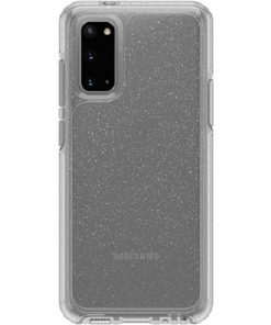 77-64197-OtterBox Symmetry Series Clear Case For Samsung Galaxy S20 5G - Stardust Glitter