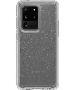 77-64222-OtterBox Symmetry Series Clear Case For Samsung Galaxy S20 Ultra 5G - Stardust Glitte
