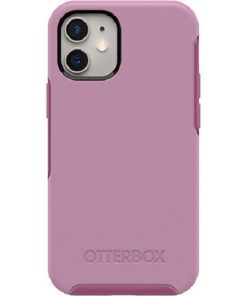 77-65367-Otterbox Symmetry Series Clear Case for Apple iPhone 12 Mini - Cake Pop Pink