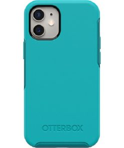 77-65369-Otterbox Symmetry Series Clear Case for Apple iPhone 12 Mini - Rock Candy Blue
