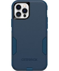 77-65406-Otterbox Apple iPhone 12 and iPhone 12 Pro Commuter Series Case - Bespoke Way Blue