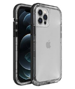 77-65426-LifeProof NEXT Case for Apple iPhone 12   iPhone 12 Pro - Black Crystal