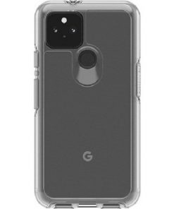 77-65749-Otterbox Pixel 5 Symmetry Series Clear Case - Clear