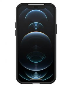 77-66278-OtterBox React Series Case for Apple iPhone12 Pro Max - Black Crystal