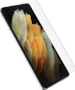 77-81284-OtterBox Alpha Flex Screen Protector For Samsung Galaxy S21 Ultra 5G - Clear - Ultra-strong