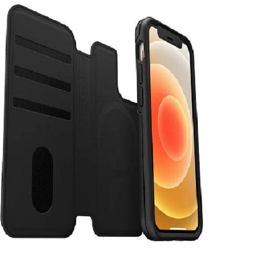 77-82584-Otterbox iPhone 12 mini Folio for MagSafe - Shadow Black