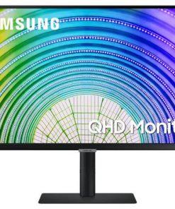 """LS27A600UUEXXY-Samsung S6U 27"""" 2K QHD 75Hz FreeSync HDR10 IPS Monitor USB-C LAN 2560x1440 5ms Height Adjust Tilt Swivel Pivot DisplayPort HDMI 3xUSB-A VESA PiP PbP"""