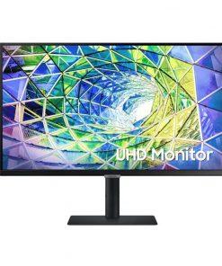 """LS27A800UJEXXY-Samsung S8 27"""" 4K UHD 60Hz HDR10 VA Business Monitor USB-C LAN 3840x2160 5ms Tilt Swivel Pivot Adjust DisplayPort HDMI 4xUSB Hub VESA PiP PbP"""
