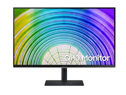 """LS32A600UUEXXY-Samsung S6U 32"""" 2K QHD 75Hz FreeSync HDR10 VA Monitor USB-C LAN 2560x1440 5ms Height Adjust Tilt Swivel Pivot DisplayPort HDMI 3xUSB-A VESA PiP PbP"""