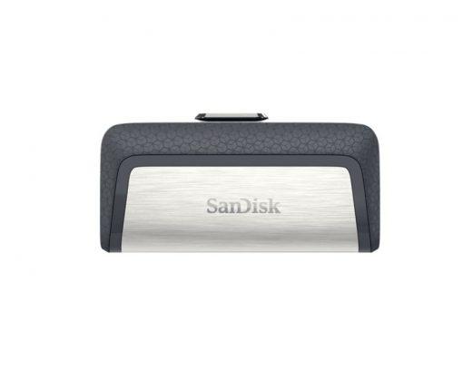 SDDDC2-064G-G46-SanDisk 64GB Ultra Dual Drive Go 2-in-1 USB-C  USB-A Flash Drive Memory Stick 150MB/s USB3.1 Type-C Swivel for Android Smartphones Tablets Macs PCs