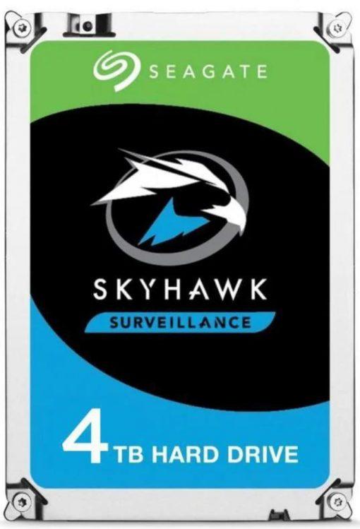 "ST4000VX013-Seagate 4TB 3.5"" SkyHawk 256MB SATA3 Surveillance Optimized"