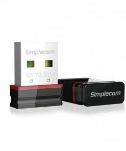 NW102-Simplecom NW102 N150 2.4GHz 802.11n Nano USB WiFi Wireless Adapter