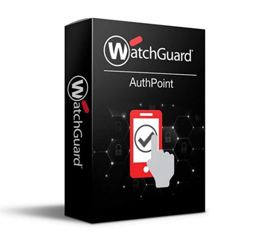 WGATH30503-WatchGuard AuthPoint - 3 Year - 501 to 1000 Users - License Per User
