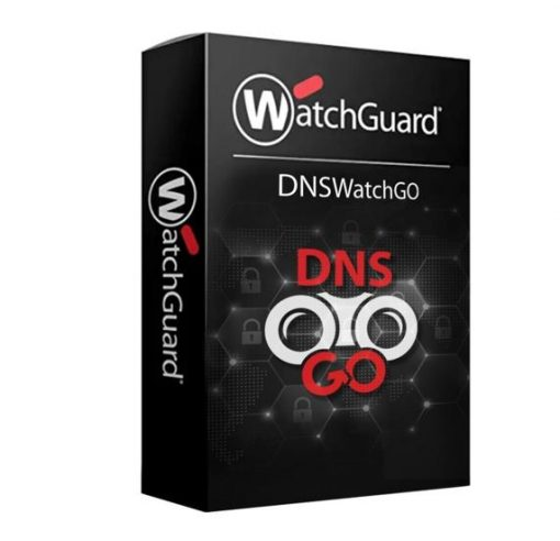 WGDNS30601-WatchGuard DNSWatchGO - 1 Year - 1001 to 5000 Users - License Per User