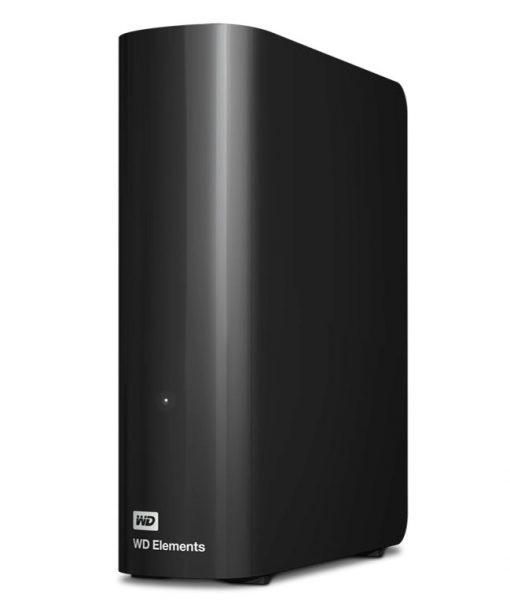 "WDBBKG0160HBK-AESN-Western Digital WD Elements Desktop 16TB USB 3.0 3.5"" External Hard Drive - Black Plug  Play Formatted NTFS for Windows 10/8.1/7"