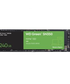 WDS240G2G0C-Western Digital WD Green SN350 240GB M.2 NVMe SSD 2400MB/s 900MB/s R/W 40TBW 160K/150K IOPS 1M hrs MTTF 3yrs wty ~WDS240G2G0B