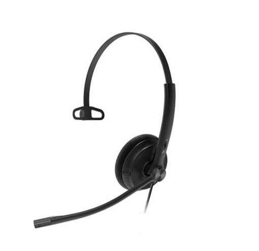 YHS34-M-Yealink YHS34 Mono Wideband Noise-Canceling Headset