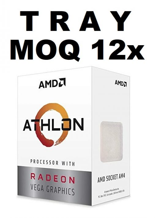 YD200GC6M2OFB-(MOQ 12x If Not Installed On MBs) AMD Athlon 200GE