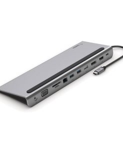 INC004btSGY-Belkin USB-C 11-in-1 Multiport Dock - Silver -  Suppliesmultimedia andEthernetportsthat have been eliminated from the latestApple and PC laptops
