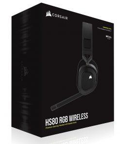 CA-9011235-AP-Corsair HS80 RGB Wireless Carbon- Dolby Atoms