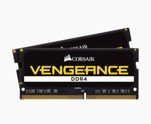 CMSX64GX4M2A3200C22-Corsair Vengeance 64GB (2x32GB) DDR4 SODIMM 3200MHz CL22 1.2V Notebook Laptop Memory RAM