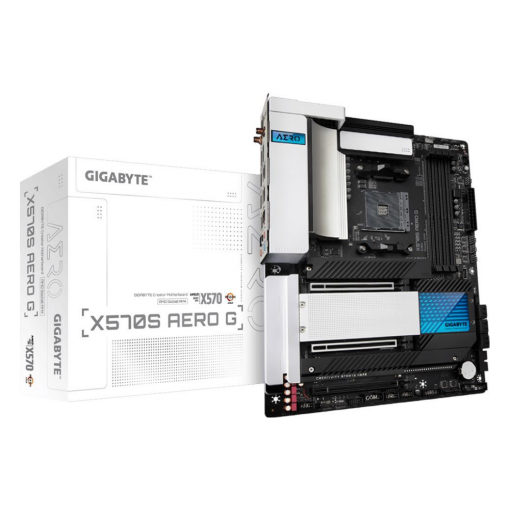 GA-X570S-AERO-G-Gigabyte X570S AERO G AMD Ryzen AM4 ATX Motherboard