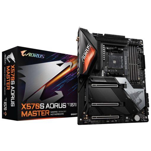 GA-X570S-AORUS-MASTER-Gigabyte X570S AORUS MASTER AMD Ryzen AM4 ATX Motherboard