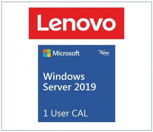 7S050025WW-LENOVO Microsoft Windows Server 2019 Client Access License (1 User) ST50 / ST250 / SR250 / ST550 / SR530 / SR550 / SR650 / SR630