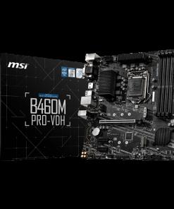 B460M PRO-VDH-MSI B460M PRO-VDH Intel mATX Motherboard