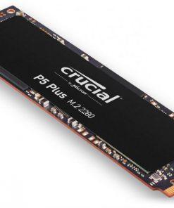 CT1000P5PSSD8-Crucial P5 Plus 1TB M.2 PCIe4 Gen4 NVMe SSD 6600/5000 MB/s R/W 600TBW 630K/700K IOPS 2M hrs MTTF Full-Drive Encryption 5yrs
