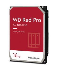 "WD161KFGX-P-Western Digital WD Red Pro 16TB 3.5"" NAS HDD SATA3 7200RPM 512MB Cache 24x7 NASware 3.0 CMR Tech 5yrs wty"