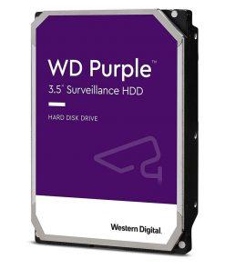 """WD84PURZ-Western Digital WD Purple 8TB 3.5"""" Surveillance HDD 7200RPM 256MB SATA3 245MB/s 360TBW 24x7 64 Cameras AV NVR DVR 1.5mil MTBF 3yrs"""