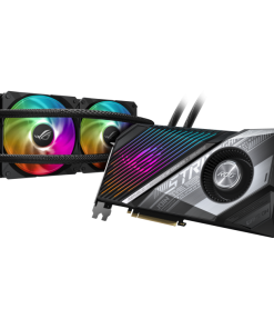 ROG-STRIX-LC-RX6800XT-O16G-GAMING-ASUS AMD Radeon ROG Strix RX 6800 XT Video Card 16G GDDR6 Liquid Cooling 240mm Radiator 600mm Tubing 2.2 Slot