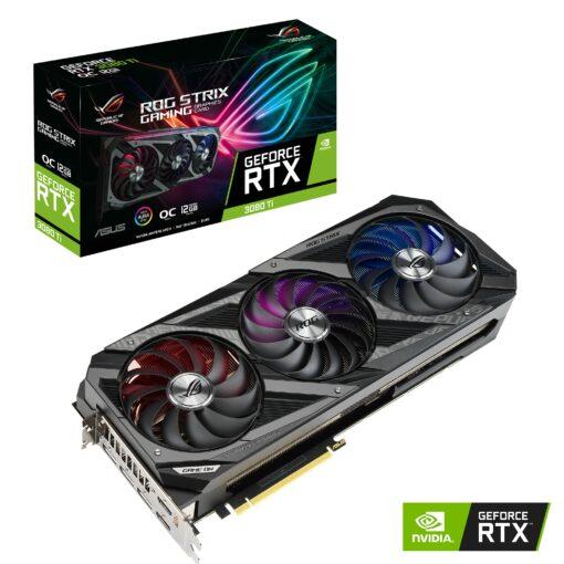 ROG-STRIX-RTX3080TI-O12G-GAMING-ASUS nVidia GeForce ROG-STRIX-RTX3080TI-O12G-GAMING RTX 3080 TI 12GB OC Video Card