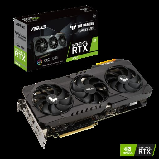 TUF-RTX3080-O10G-V2-GAMING-ASUS nVidia GeForce TUF-RTX3080-O10G-V2-GAMING RTX3080 V2 10GB OC Edition