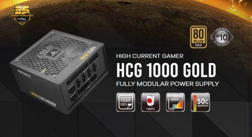 HCG1000 Gold AU-Antec HCG 1000w 80+ Gold