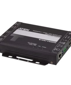VE3912T-AT-U-Aten VE3912T 4K DisplayPort / HDMI / VGA Switch with HDBaseT Transmitter