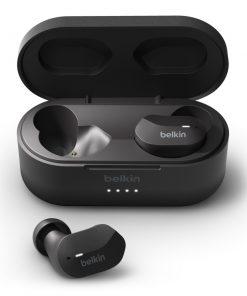 AUC001btBK-Belkin SOUNDFORM™ True Wireless Earbuds - Black