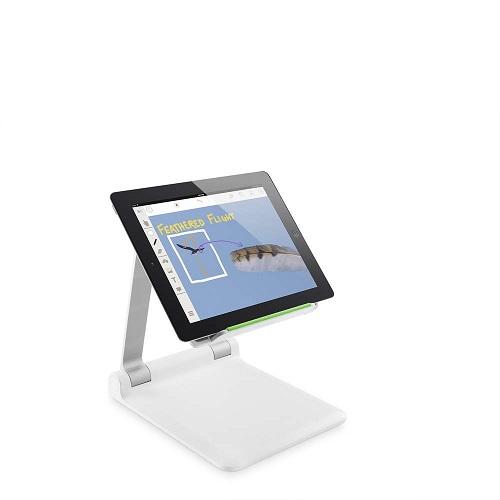B2B118-Belkin Portable Tablet Stage - White