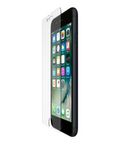 F8W768vf-Belkin ScreenForce®  Tempered Glass Screen Protector for iPhone 8/7/6s/6 Transparent