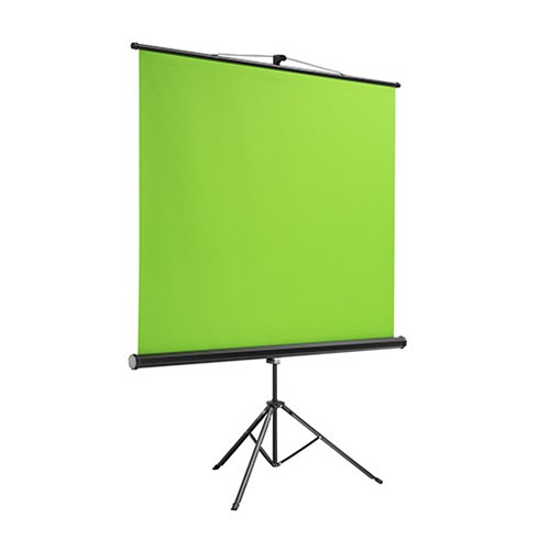 BGS01-106-Brateck 106'' Green Screen Backdrop Tripod Stand Viewing Size(WxH):180×200cm