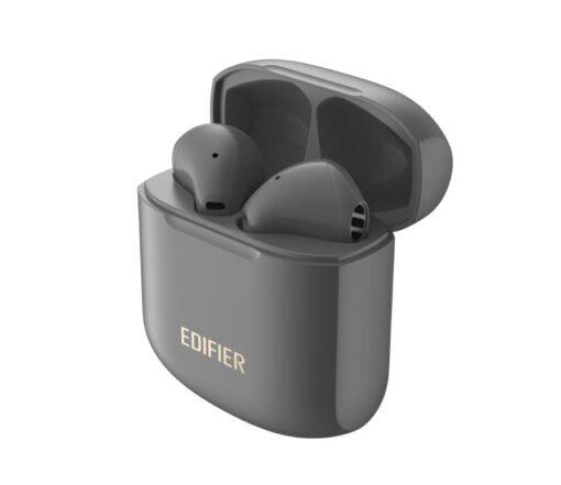 TWS200 PLUS GREY-Edifier TWS200 PLUS TWS Stereo Wireless Earbuds - Qualcomm aptX