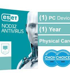 AV-ES-NOD32OEM-ESET NOD32 Antivirus (Essential Protection) OEM 1 Device 1 Year  - Includes 1x Physical Printed Download Card