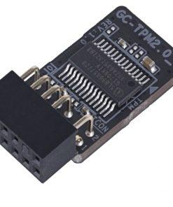 GC-TPM2.0_SV2-Gigabyte GC-TPM2.0_S 2.0 Trusted Platform Module for Z390 H370 B360 H310 X299 Z370 TRX40 X399 X470 B450 X370 Motherboard Windows 7 8 10