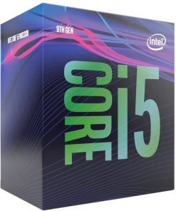 BX80684I59400F-P-Intel Core i5-9400F 2.9GHz (4.1GHz Turbo) LGA1151 9th Gen 6-Cores 6-Threads 9MB 8GT/s 65W Dedicated Graphic Required Retal Box 3yrs Coffee Lake